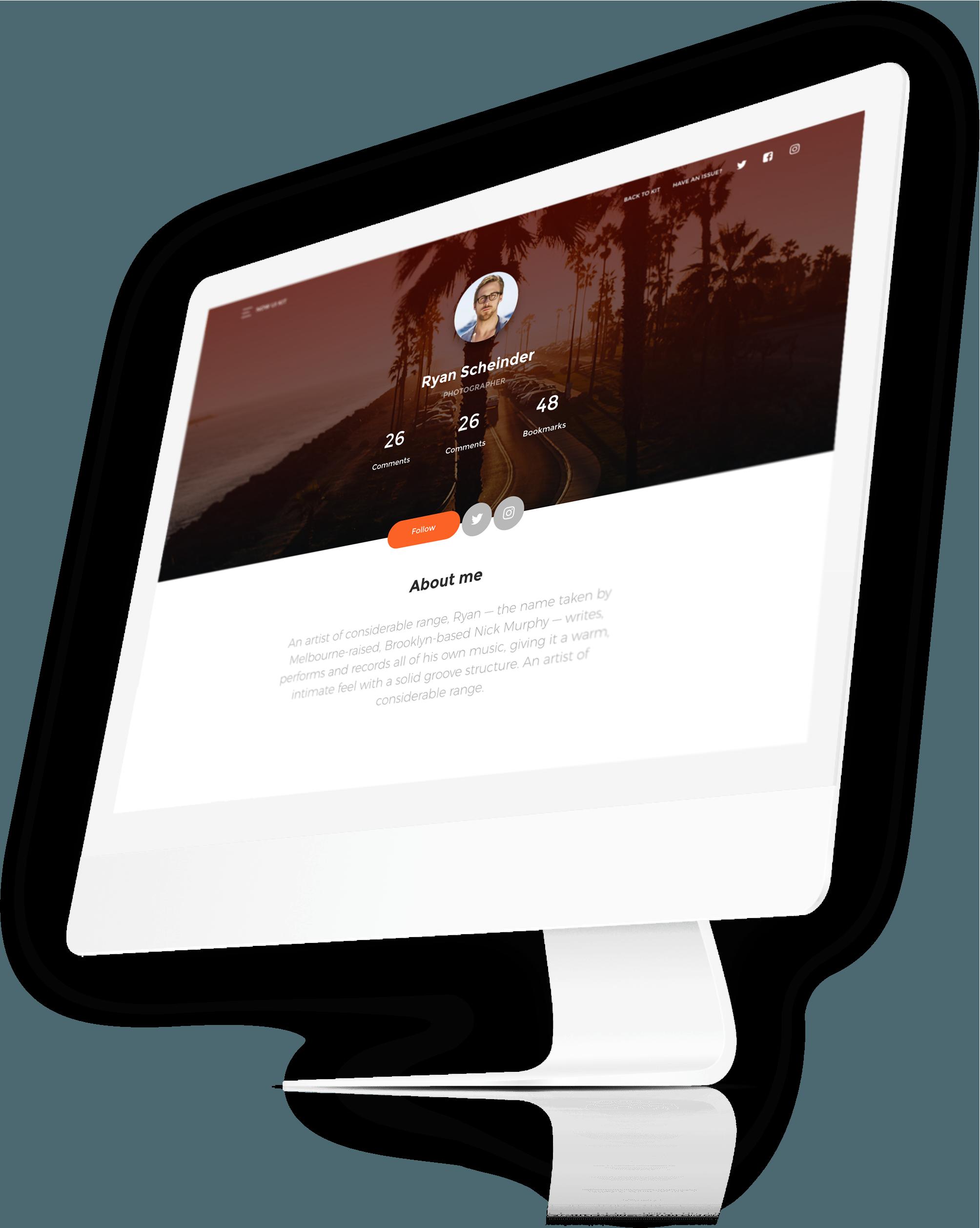 UI Kit basato su Bootstrap 4