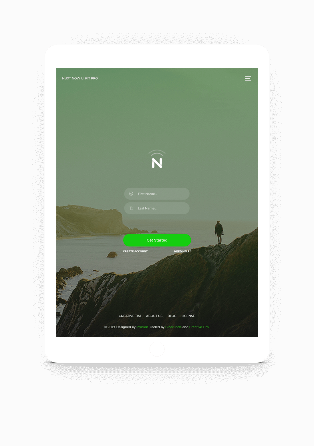Nuxt Now UI Kit PRO